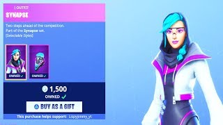 FORTNITE ITEM SHOP *NEW* SYNAPSE SKIN! (FORTNITE BATTLE ROYALE)