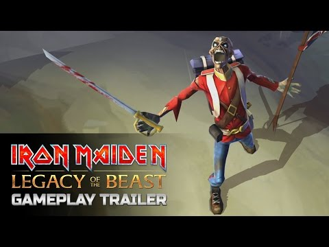 Iron Maiden: Legacy of the Beast Official Gameplay Trailer