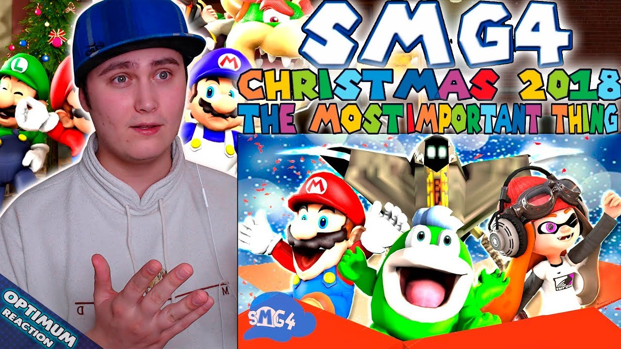 Smg4 Christmas 2020 Reaction SMG4 Christmas 2018: The Most Important Thing | Reaction | Green