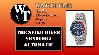 Seiko SKX Pepsi Diver (SKX009K2) Full Review