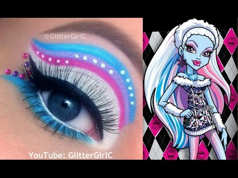 Monster High's Abbey Bominable Makeup Tutorial