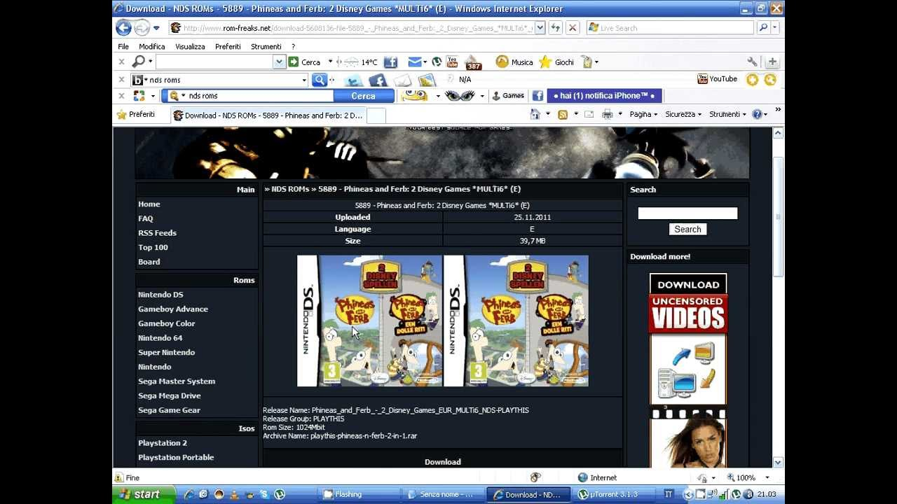download giochi nds gratis  youtube