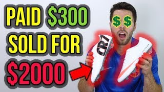 HOW TO MAKE MONEY RESELLING FOOTBALL BOOTS!