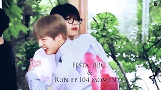 Download lagu Taejin [뷔진 ~ 태진]🐹💜🐯 : Festa, BBC and Run episode 104