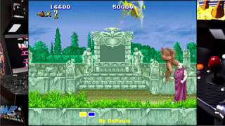 Altered Beast Arcade Gameplay