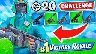 winning-with-drum-weapons-only-challenge-20-elims