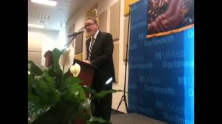 Dr. Carlos Munoz, Jr. speaks at UMass Dartmouth