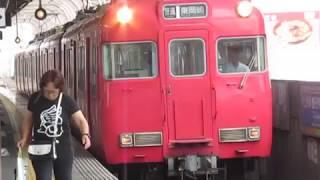 名鉄6000系6007F上小田井駅発車