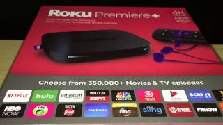 Roku Premiere vs Premiere + vs Ultra - 4k streaming players - HDR - Unboxing & First Look