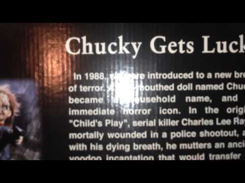 3 Chucky Dolls that Spencers Gifts sold out