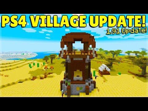 Minecraft PS4 - 1.91 VILLAGE & PILLAGE FULL RELEASE NEW ...
