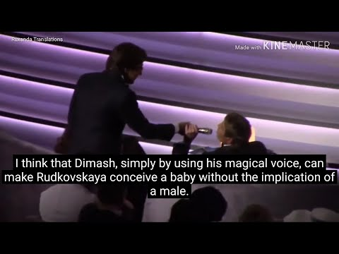 [ENG/other] Dimash at 'Victoria' Russian Music Awards