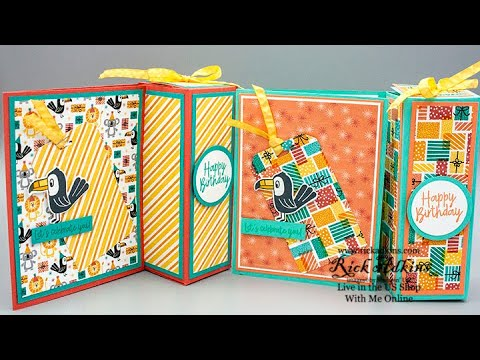 Treat Week 2020 #4 - Birthday Bonanza Gift Box & Card In One