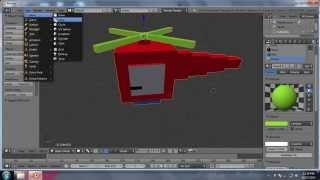 Tutorial Blender - Membuat Helikopter - Pemula