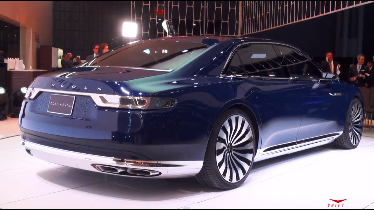 2015 Lincoln Continental Concept - YouTube