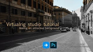 Virtualrig studio tutorial. Making an attractive background.