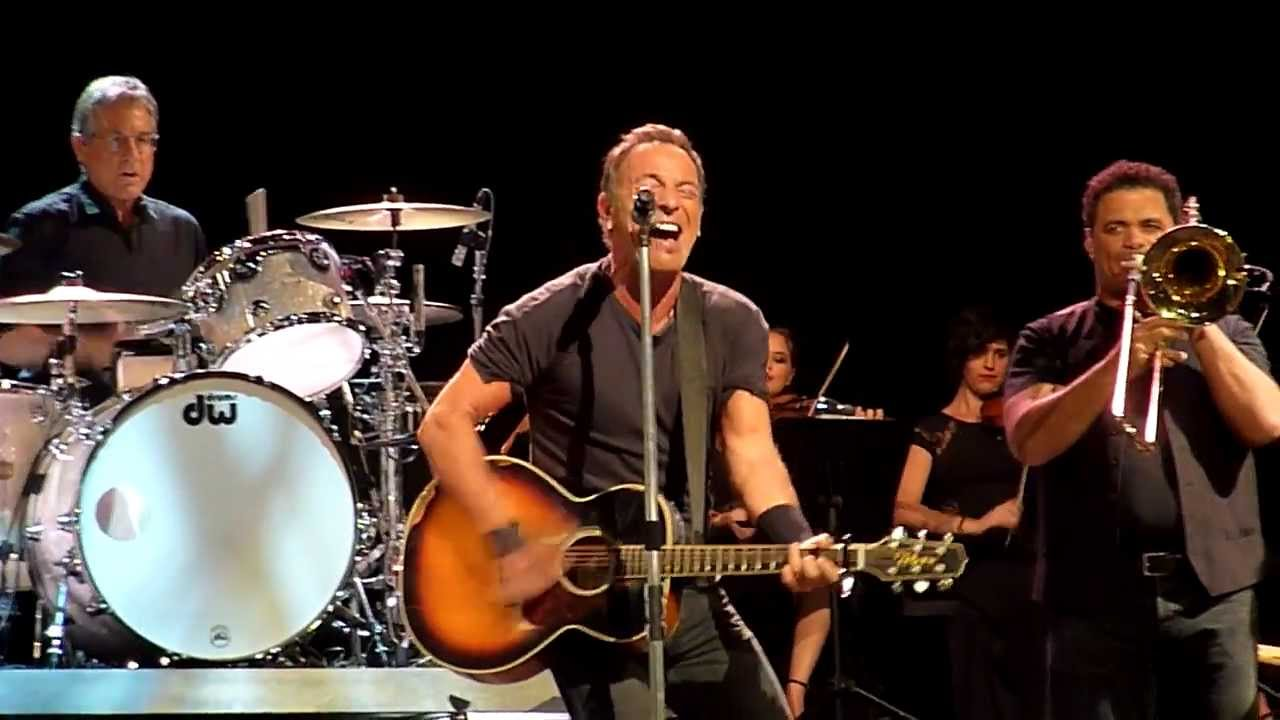 Stayin Alive Bruce Springsteen Brisbane Entertainment Centre