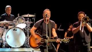 Repeat youtube video Stayin Alive - Bruce Springsteen - Brisbane Entertainment Centre  - 26-2-2014