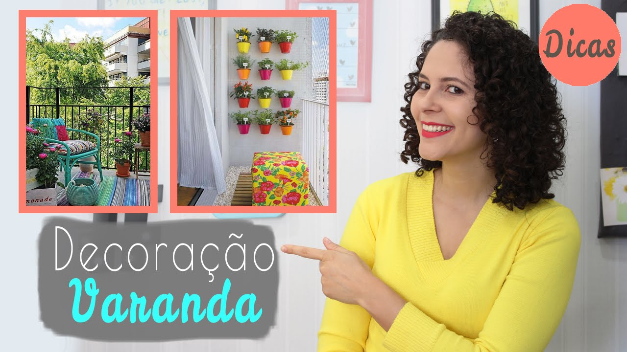 5 dicas para decoraç u00e3o varanda pequena Mariana Martins YouTube -> Decoração Para Varanda De Apartamento Simples