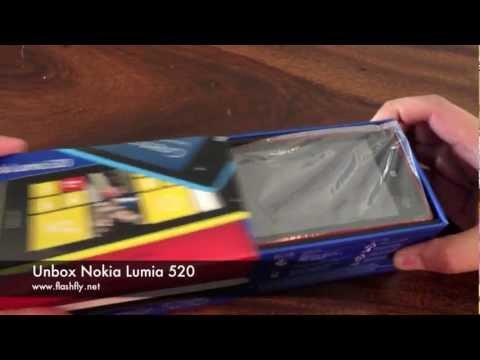 Nokia Lumia 520 : Unbox (Thailand)