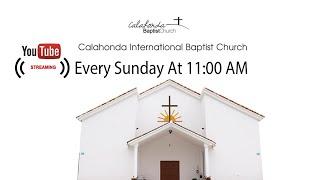 Streaming Sermon 03 05 2020 Calahonda International baptist Church CIBC