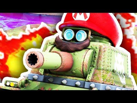 MARIO THE TANK!??! (Super Mario Odyssey #3)
