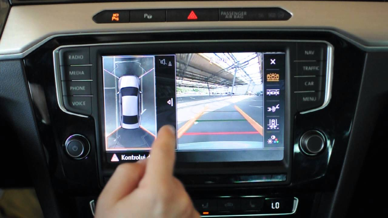 Volkswagen Passat B8 Area View - YouTube