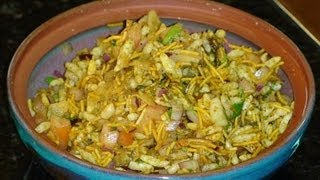 Bhel Puri Recipe (Chaat)
