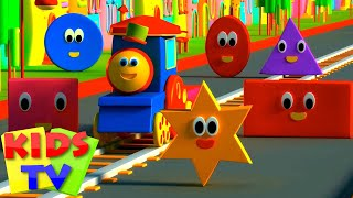 Bob The Train | Adventure with Shapes | Shapes for Children | …