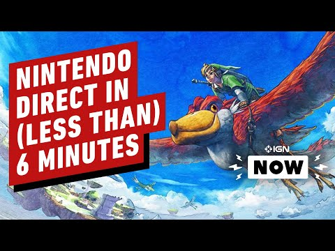 Everything in the February Nintendo Direct in Less Than 6 Minutes - IGN Now