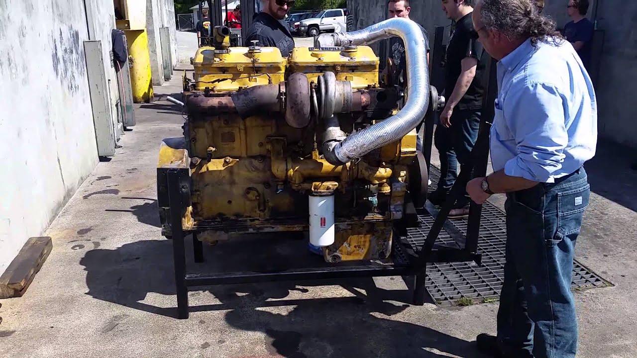 Diesel Engines  Caterpillar 3406 Start