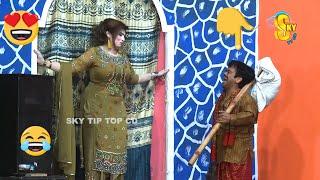 Vicky Kodu with Saira Mehar and Amjad Rana | Stage Drama Haseeno Ka Mela | full Comedy Clip 2020