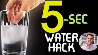 Morgan Hurst Water Hack   The 5-Second Water Hack