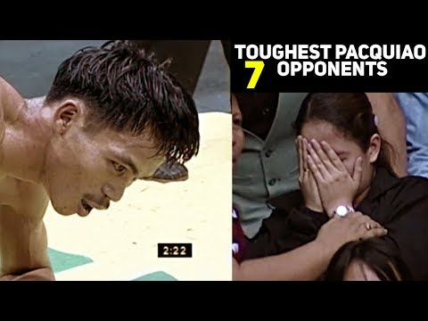 Toughest 7 Manny Pacquiao Opponents