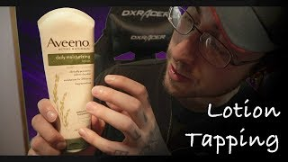 Relaxing Lotion Tapping Sounds ASMR