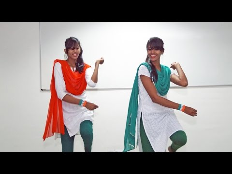 "Patriotic Dance Performance by RNBGU Student on ""Satyamev Jayate"" Song"