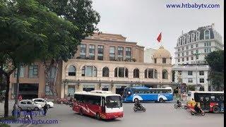 Wheels On The Bus Ha Noi Da Nang Sai Gon 🚌 Double Decker Bus Ha Noi Da Nang    HT BabyTV ✔︎