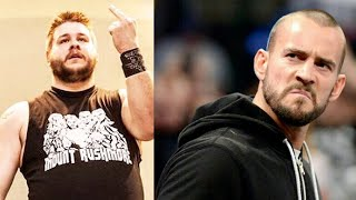 "Kevin Owens - When CM Punk Got ""Very Upset"" Backstage Over a T-Shirt"