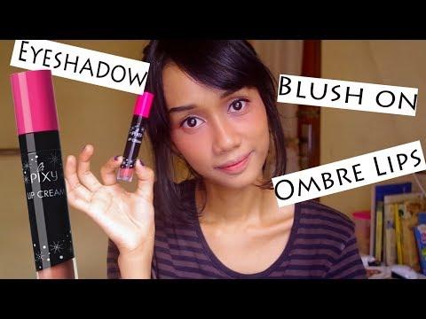 1-lip-cream-5-fungsi---cara-pakai-pixy-lip-cream-+-tutorial-singkat-makeup-serba-peach
