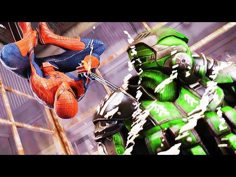 ПЫТАЕМСЯ ОТКРЫТЬ КОСТЮМЫ Володя играет в Новый Человек Паук на Прохождение The Amazing Spider Man