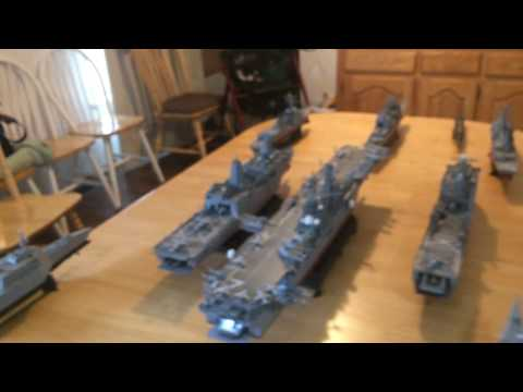 US NAVY Amphibious Ready Group 1/350 Scale