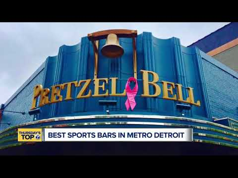 Thursday's Top 7: Best Sports Bars In Metro Detroit