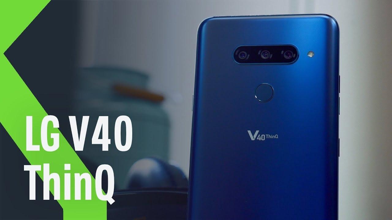 4031b096199 El LG V40 ThinQ llega oficialmente a España: éstos son los precios y  disponibilidad del smartphone con 5 cámaras