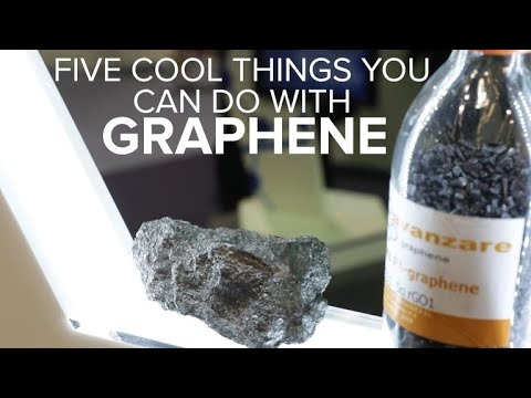 What is graphene? Five cool uses for the wonder material