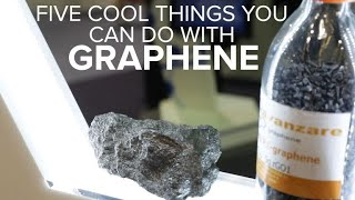 Five cool uses for the wonder material graphene