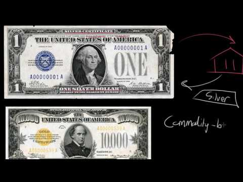 Commodity money vs. Fiat money