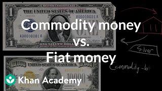 Commodity money vs. Fiat money