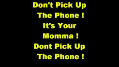 warning your mom is calling ringtone