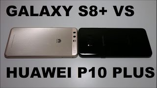 Samsung Galaxy S8+ vs Huawei P10 Plus Speed Test!