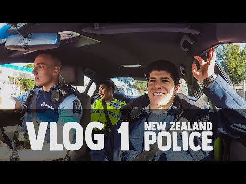 New Zealand Police Vlog 1: First Day on the Job!